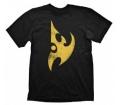 "Starcraft 2 T-Shirt ""Protoss Logo Yellow Vintage"","