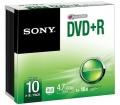 Sony DVD+R 10-es csomag 4.7GB 16x Slim