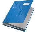 Leitz Aláírókönyv, A4, 18 részes, karton, kék