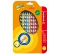 Stabilo Színes ceruza készlet, balkezes, 12 szín