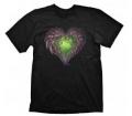 """Starcraft 2 Póló """"Zerg Heart"""", M"""