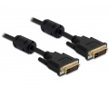 Delock kábel, DVI 24+5 apa > apa, 1 m
