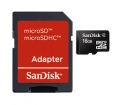 SanDisk Micro SDHC 16GB CL4 + SD adapter