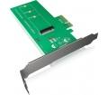 RaidSonic Icy Box PCIe 3.0 x4 M.2 SSD adapter