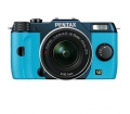 Pentax Q7 Metal Navy/Aqua + zoom 5-15mm