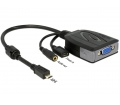 Delock MHL Micro USB > VGA + Jack