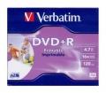 Verbatim DVD+R 4,7GB 16x doboz nyomtatható