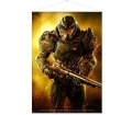 "Doom Wallscroll ""Doom Marine"""