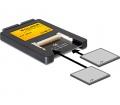 Delock 2.5″ IDE-kártyaolvasó > 2 x CF Card