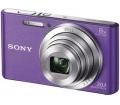 Sony DSC-W830 lila + 32GB memóriakártya