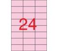 APLI 70x37mm színes pasztell rózsaszín 480db/cs