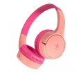 Belkin SoundForm Mini Gyerek fejhallgató Pink