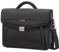 "Samsonite Desklite Briefcase 1 Gusset 15.6"" Black"