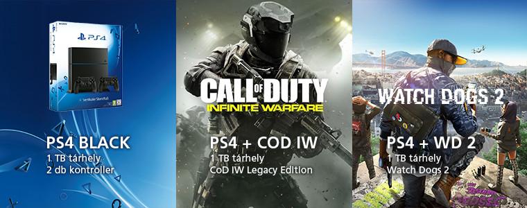 PS4 csomagok 2016.11
